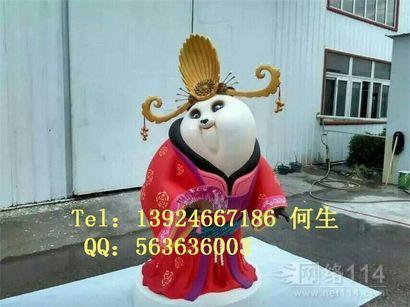 功夫熊猫3系列人物雕塑【玻璃钢纤维卡通雕塑】