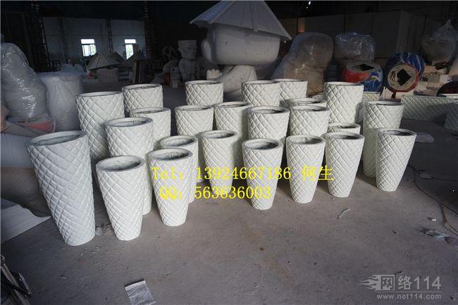 玻璃钢纤维欧式花盆制作树脂花盆雕塑制作厂家