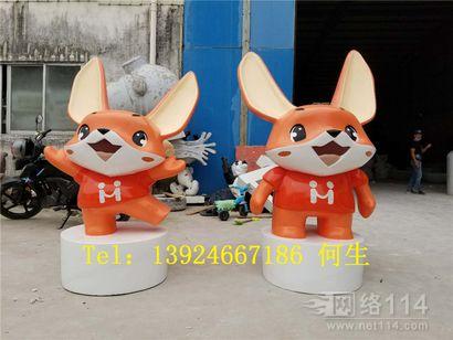 公司开幕仪式形象卡通雕塑深圳卡通雕塑定做工厂