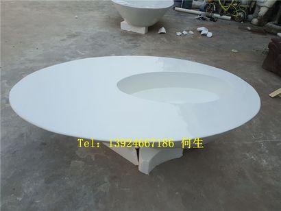 纤维花钵座椅模型制作商场美陈花钵定制