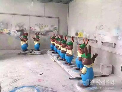 疯狂动物城系列雕塑【玻璃钢卡通纤维雕塑】