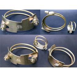 卡箍管夹橡胶软管欧式卡塑料胶管喉箍油管双钢丝老虎夹