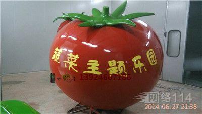 蔬菜主题乐园雕塑户外仿真蔬菜造型定做生产工厂