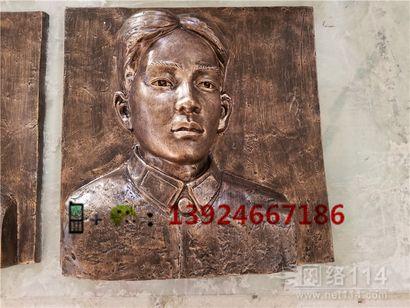 东莞人物头像雕塑玻璃钢仿真人物半身像定做工厂