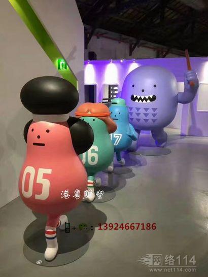 玻仟玩偶模型制作品牌活动公仔定做工厂