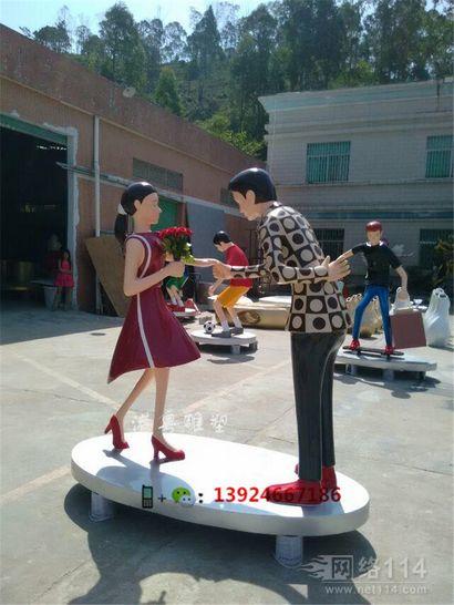 商场购物人像雕塑万达广场时尚购物人物定做工厂