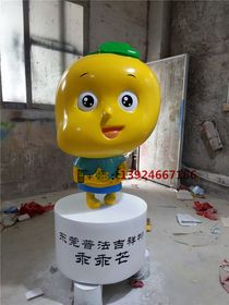 东莞公园水果卡通雕塑玻璃钢水果卡通定做查看原图(点击放大)
