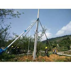 三脚架立杆机铝合金立杆机10米12米15米人字立杆机