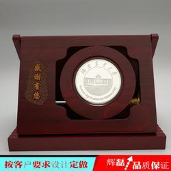 银制纪念章定制银纪念章定做纪念币