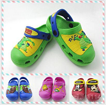 夏季可爱卡通洞洞鞋