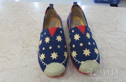 夏季新款老北京女懒人鞋女鞋