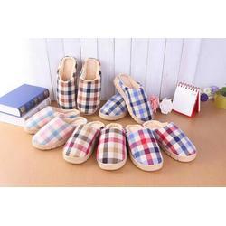 居家室内保暖防滑男女地板家居棉拖鞋
