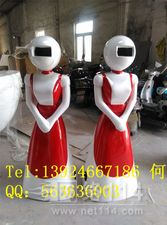 东莞餐厅机器人雕塑