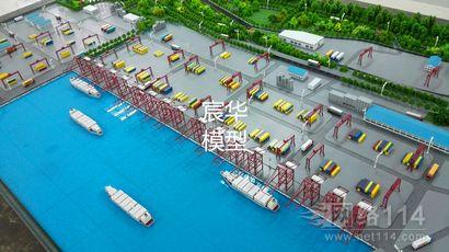 水电站模型 变电站模型 港口模型 抽水站沙盘 码头模型制作