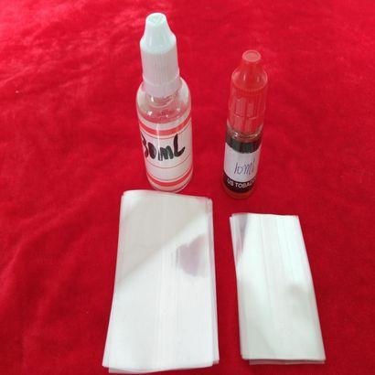 烟油瓶收缩膜,烟油瓶塑封膜