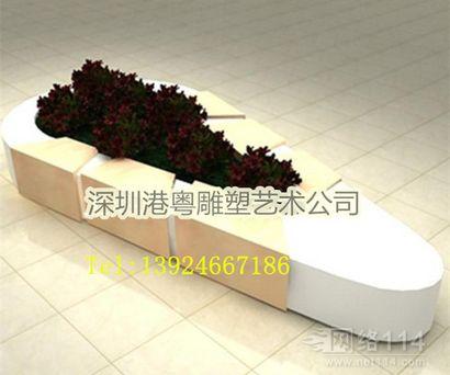 休息室特色长椅定制【玻璃钢纤维休闲椅雕塑】