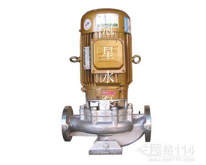GDF立式不锈钢耐腐蚀管道泵选型 广东冠星不锈钢水泵厂家官网