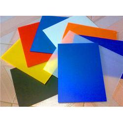 厂家供应PP塑料蓝色中空板刀卡隔板包装用蓝色中空板厚度可