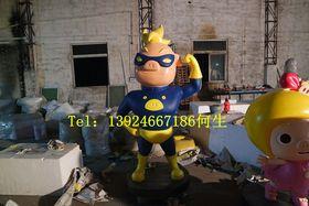 卡通猪猪侠系列玻璃钢雕塑查看原图(点击放大)