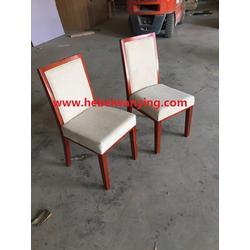 河北万赢家具木质会议椅实木办公椅麻布椅子宾馆座椅橡木椅子