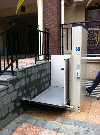 残疾人升降机,残疾人电梯