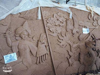 民族文化浮雕墙高标准专业生产加工___成都丰甲雕塑