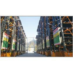大型立体停车场---安徽淮北惠泽垂直循环智能立体停车场案例