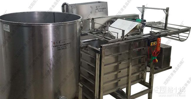 沈阳一体式仿手工自动干豆腐机