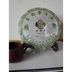 老同子普洱茶2007珍藏版大雪山料古树茶生普357克生普茶饼