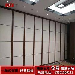 会议室展厅隔离墙折叠门可推拉伸缩墙活动隔断酒店隔断墙移动屏风
