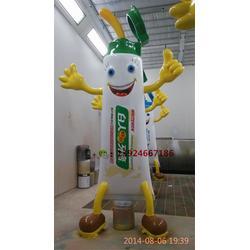 品牌牙膏卡通雕塑纤维牙膏模型定做
