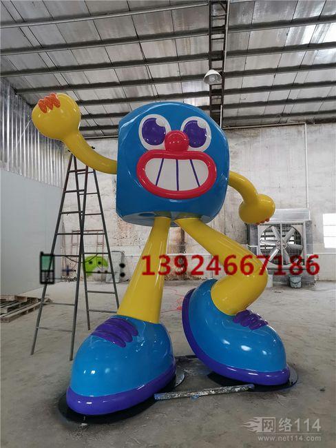 四川成都商场美陈IP卡通展览雕塑工厂骰子卡通造型雕塑