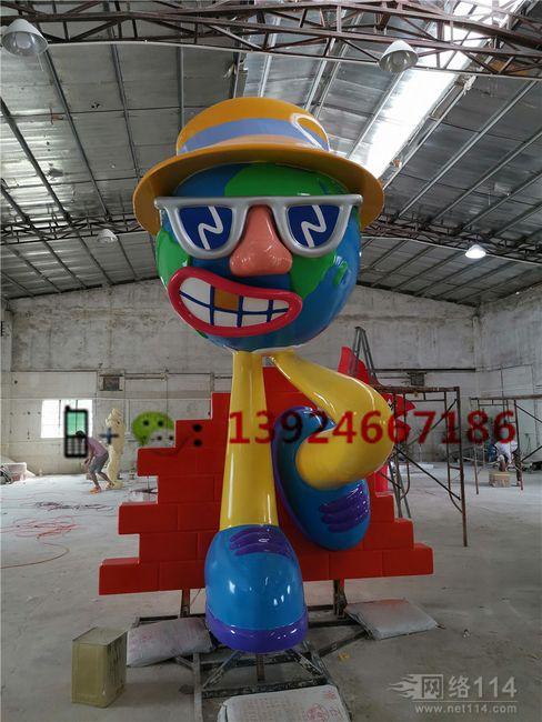玻纤搞怪公仔模型制作品牌IP卡通公仔雕塑