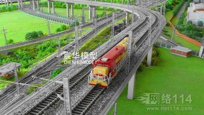 快速公路|高速公路|高铁沙盘|道路交通模型|桥梁沙盘模型制作
