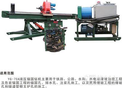 四川成都YG70A全液压锚固管棚钻机厂家直销价格