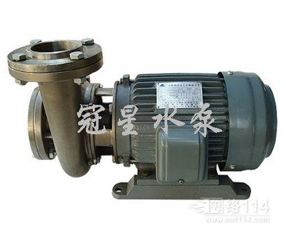 台湾款不锈钢耐腐蚀泵 3Hp同轴抽水泵 广东不锈钢水泵厂家