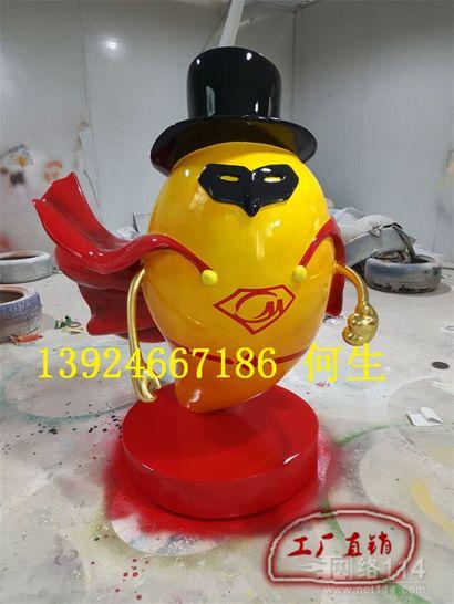 芒果超人卡通雕塑