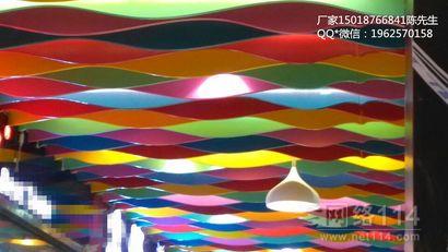 铝合金吊顶厂家 垂帘挂片吊顶 滴水装饰吊顶挂片