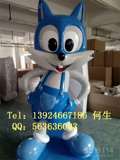 深圳卡通动物雕塑图片纤维卡通动物模型制作工厂