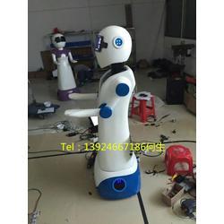 湘潭餐厅机器人玻璃钢雕塑