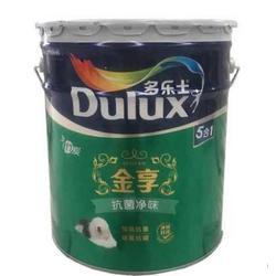 多乐士金享抗菌净味竹炭5合1内墙乳胶漆15L