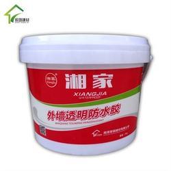湘家牌家园建材外墙透明防水胶5kg/桶