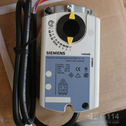 西门子风阀执行器GDB系列,西门子执行器