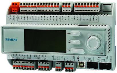 西门子热网专用可编程控制器,西门子三通温控阀