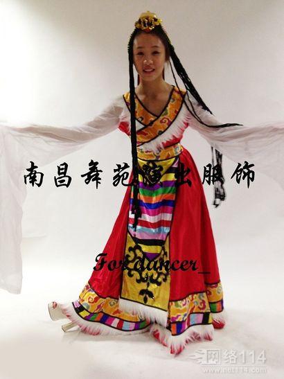 藏族舞蹈服装租赁,江西藏族服装出租