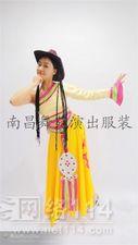 江西藏族服装租赁,藏族舞蹈演出服装