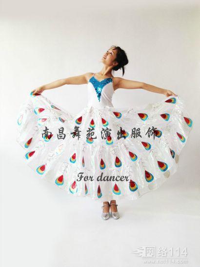 傣族舞蹈服装租赁