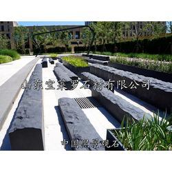 中国黑花岗岩广场石,景观石