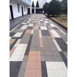 深圳路政工程道路铺透水砖人行道铺砖