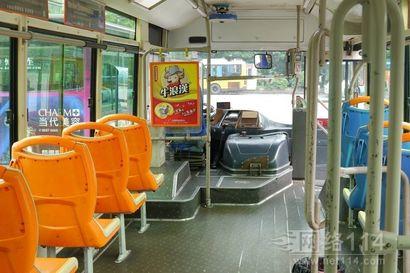 重庆公交车内广告:车内看板